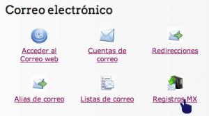 Hosting. Registros MX - 1
