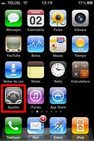 Configurar correo iPhone - 1