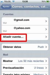 Configurar correo iPhone - 3