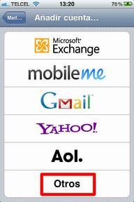 Configurar correo iPhone - 4