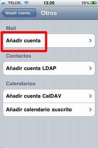 Configurar correo iPhone - 5