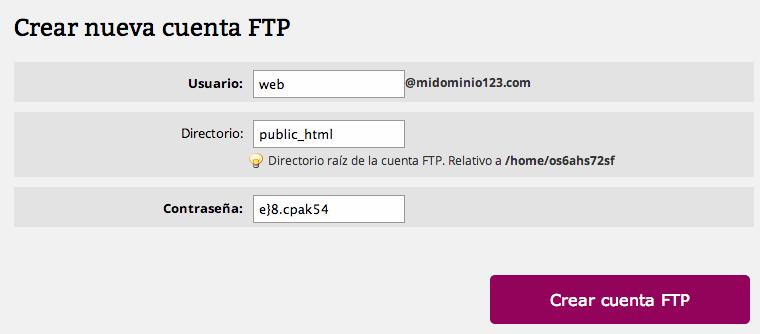 hosting-crear-ftp