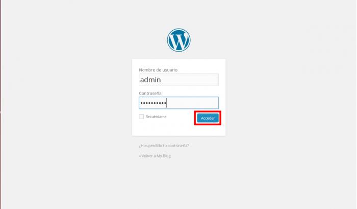 Instalar WordPress