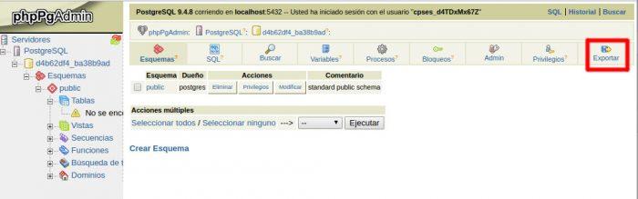 7-postgresql--phppgadmin-acceder-exportar