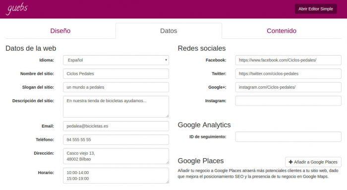 miniweb-datos